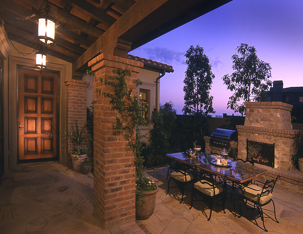 Intimate Courtyards Add Character And Coziness To Private